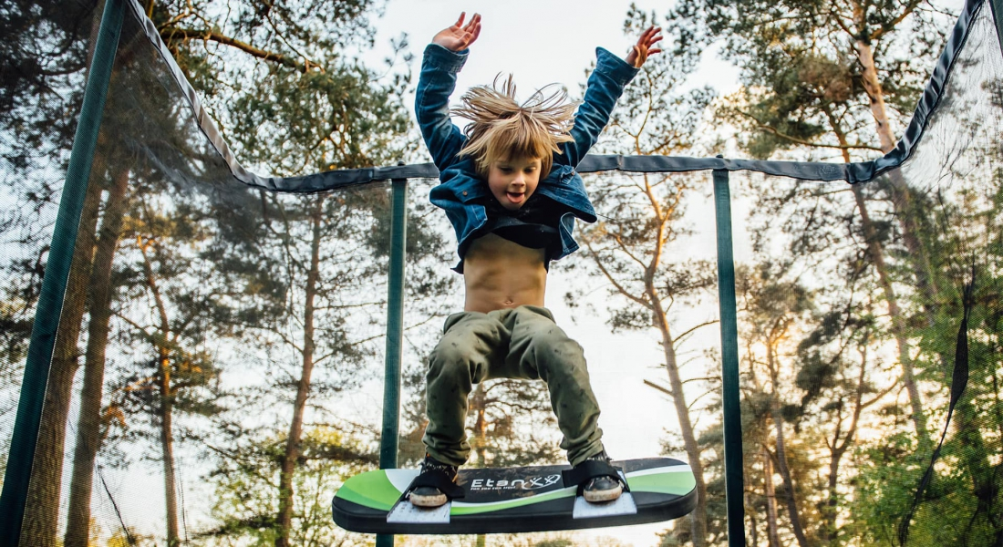 Buying a trampoline? This trampoline suits you!